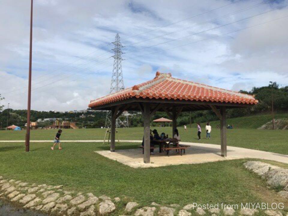 中城公園芝生